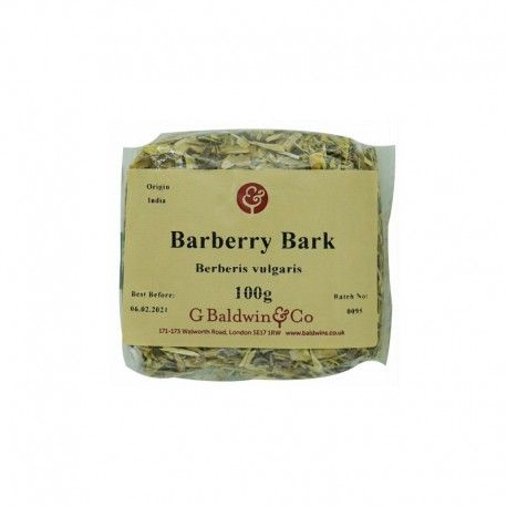 Barberry Bark cut (Baldwin's) (100g)